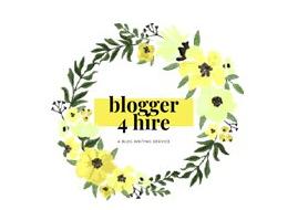 blogger 4 hire